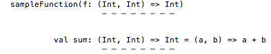 The FIP signature is exactly the same as the ERT signature for the sum function.